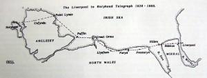 Holyhead to Bidston Telegraph Stations