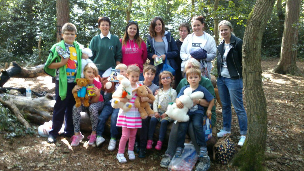 Teddy Bears' Picnic on Bidston Hill, 2015