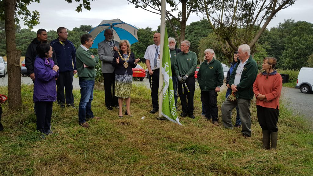 Bidston Hill's Green Flag